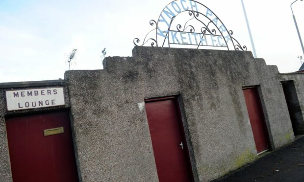 The game was due to take place at Kynoch Park.