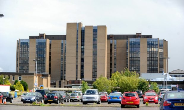 Visitors to Raigmore Hospital in Inverness will have to continue following Level 1 guidance. Picture by Gordon Lennox