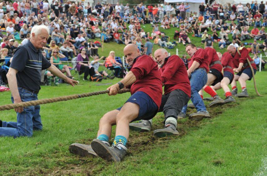 Dufftown Highland Games 2019. Elgin V Braemar. Supplied by Jason Hedges.