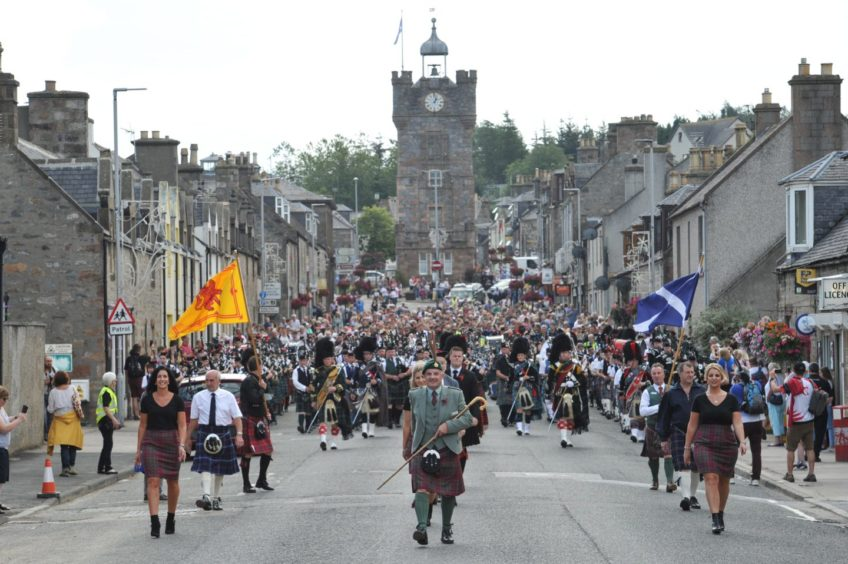 Dufftown Highland Games 2019. Supplied by Jason Hedges.