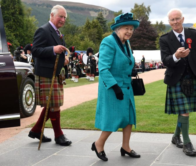 Braemar Gathering 2018, at The Princess Royal and Duke of Fife Memorial Park in Braemar. Picture by Kenny Elrick