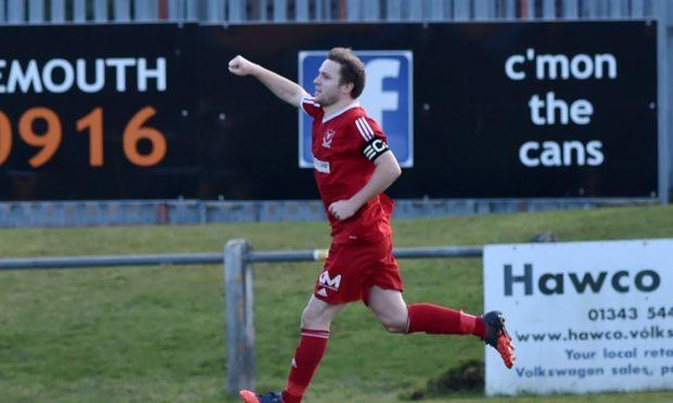 Deveronvale striker Dane Ballard