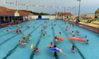 Stonehaven open air swimming pool, pictured here in pre-Covid times, is among council-run facilities which have been hooked up to faster broadband under the project.