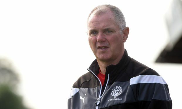 Nairn County manager Ronnie Sharp