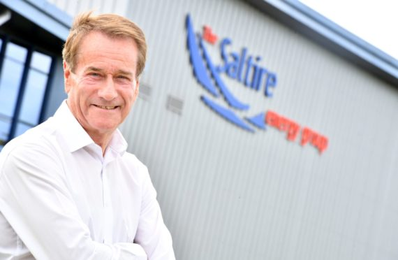 Loggie, Chief Executive of Saltire Energy, pictured at the Saltire Energy Hub, Badentoy Industrial Estate, Portlethen.