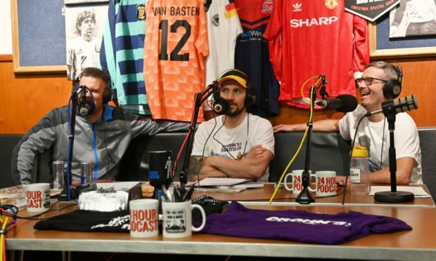 The 24hr podcast of Two Blokes and a Mike live from the British Legion in Turriff.