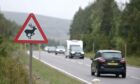 The A9: a popular tourist route for summer drivers.
