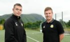 Paul Coutts, left, and Fort William manager Ashley Hollyer are looking to move the club up the Highland League.