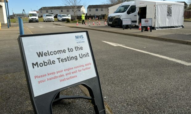 Locals are being encouraged to get tested