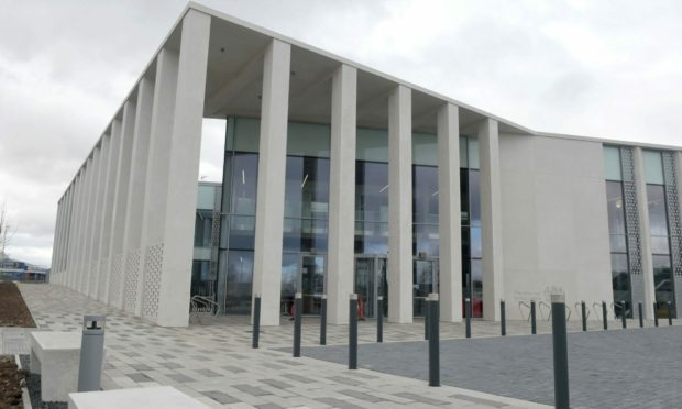 Inverness Sheriff Court.