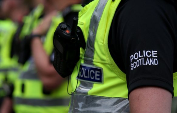 The A96 was closed for 10 hours for investigations to be done.