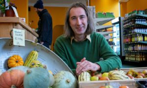 Reuben Chesters, boss of social enterprise supermarket, Locavore, has secured £850,000 in funding to support ambitious growth plans.