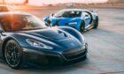 Bugatti and Rimac will produce two hypercar models: the Bugatti Chiron and the EV Rimac Nevera.