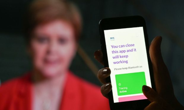 First Minister Nicola Sturgeon has urged people to continue using the Protect Scotland app.