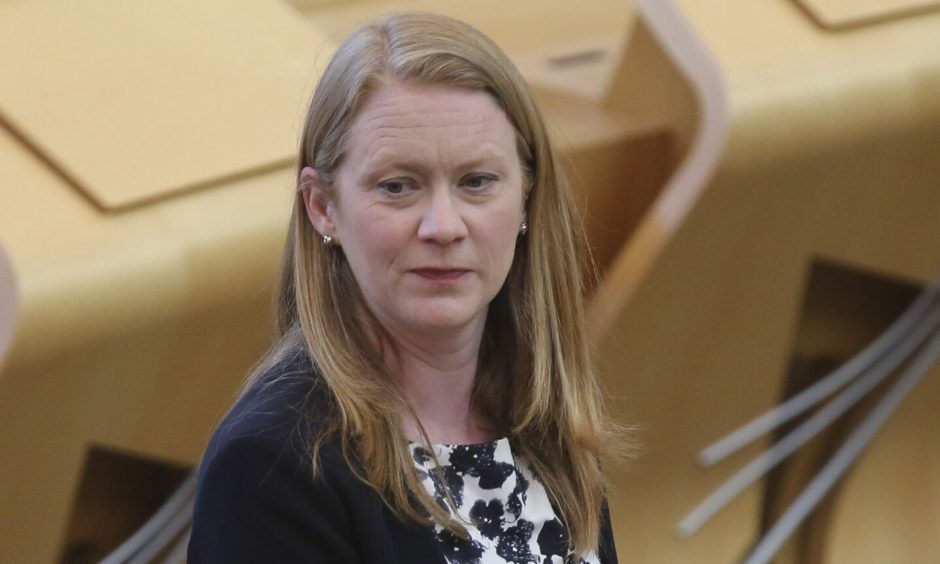 Education Secretary Shirley-Anne Somerville
