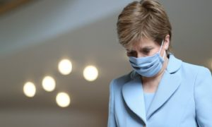 """Nicola Sturgeon said the """"big backlog"""" in the health service was not unique to Scotland but all four nations of the UK."""