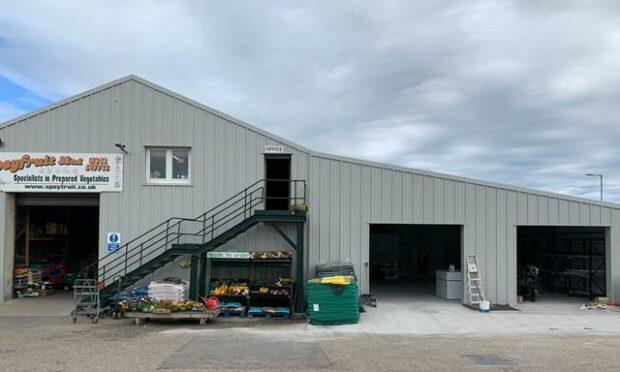 Speyfruit's base, in Elgin.