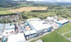 SGL Carbon's plant at Muir of Ord.