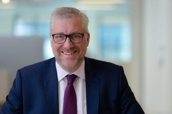 Sandy Begbie, chief executive of Scottish Financial Enterprise