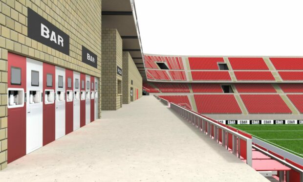Drink dispensing technology developed in Aberdeen  could revolutionise sports stadium catering.