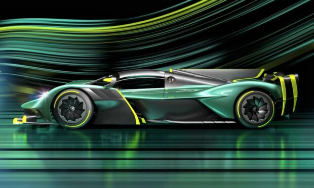 The Aston Martin Valkyrie delivers over lateral acceleration exceeding 3G.
