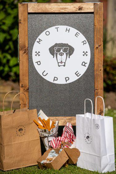 A selection of Mother Pupper vegan dog treats