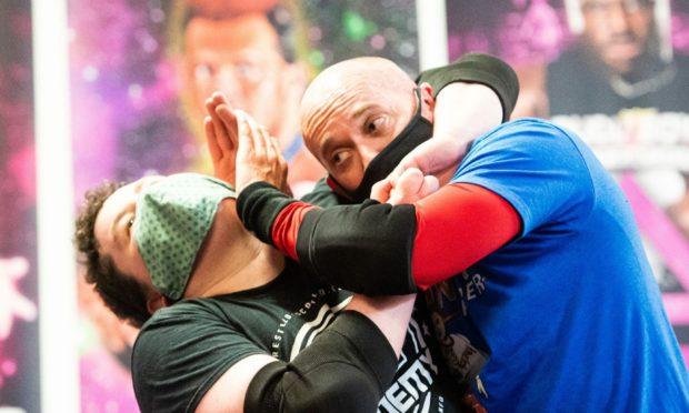 Wrestlezone stars return to full-contact training.