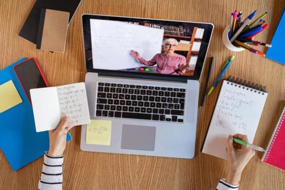 International School Aberdeen online classroom