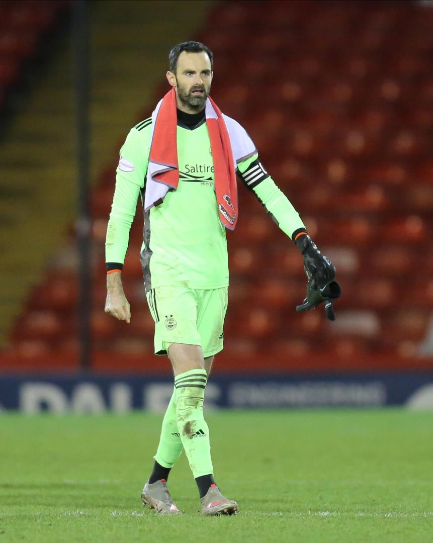 Aberdeen Football Club Captain Joe Lewis