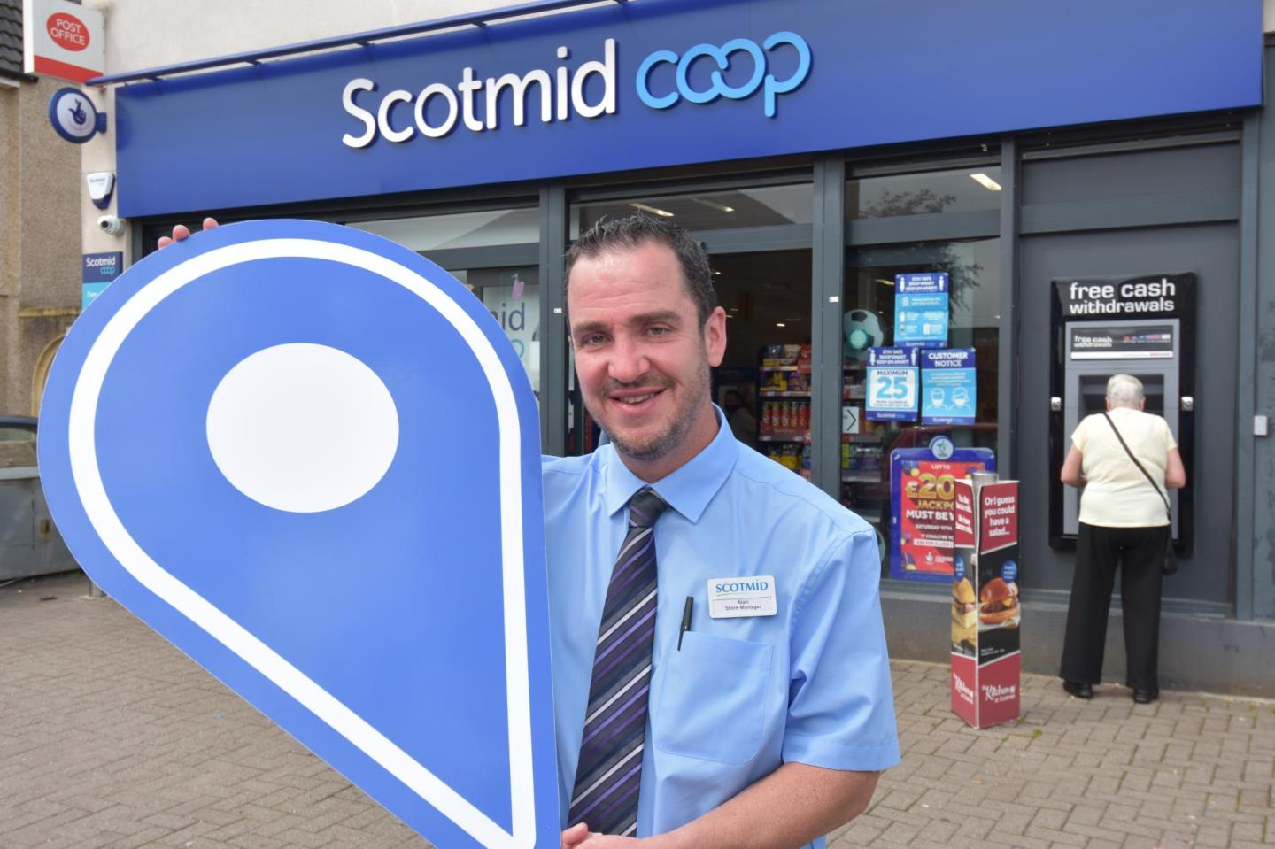 Choose your local Scotmid shop and support Scotland Loves Local campaign.