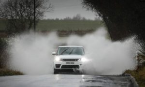 Heavy rain is expected to affect Aberdeen, Aberdeenshire, Moray and Inverness through the day. Photo: DCT Media