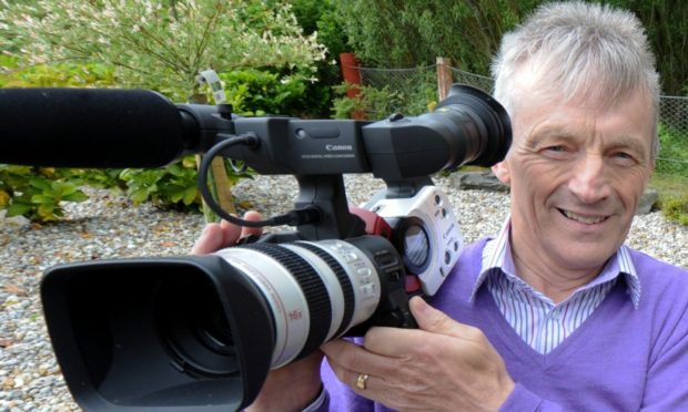 Award-winning filmmaker Don Carney has collected more than 500 hours of Scottish heritage archive footage.