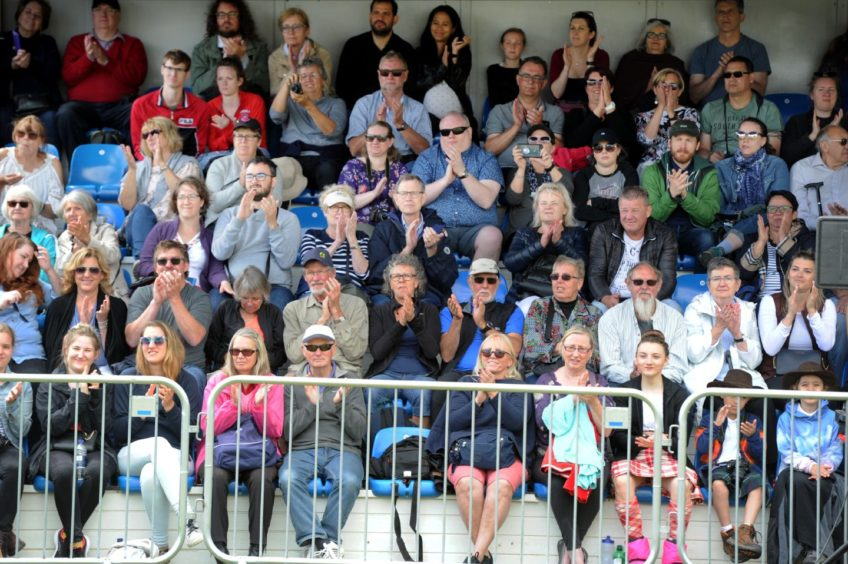 The 2018 Aberdeen Highland Games, Hazlehead Park, Aberdeen. Picture by Jim Irvine