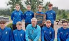 The victorious Portlethen Junior Pennant team.