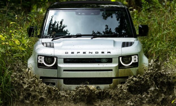 The all new Land Rover Defender: tough in cities and off-road.
