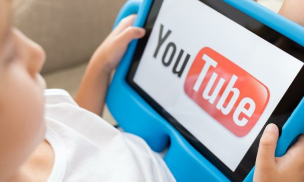 YouTube is very popular with children