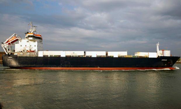 Cargo ship MV Arrow. Photo: Shutterstock