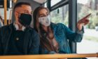 Scots are keen to keep wearing face masks on public transport.