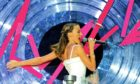 """Kylie Minogue sings """"Can't Get You Out of My Head"""" at the BRIT Awards 2002"""