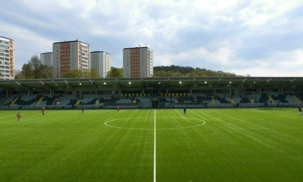 The Bravida Arena, home of BK Hacken, in Gothenburg.