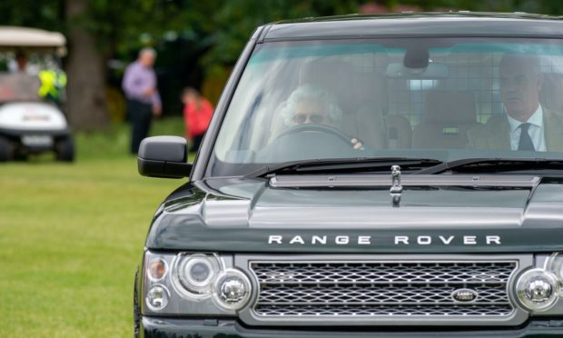 Queen Elizabeth drove herself around Royal Windsor Horse Show