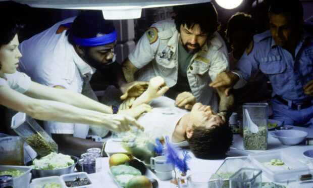 Alien's most infamous scene put a whole generation off the idea of space travel