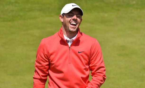 Rory McIlroy is in a confident and upbeat mood despite recent struggles.