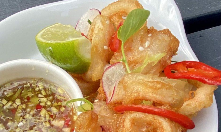 Nick nairn's tempura squid recipe.