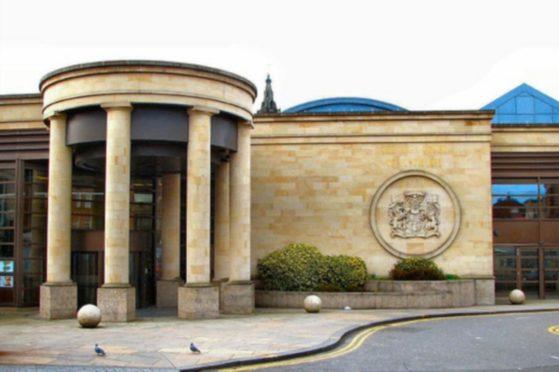 Buczynski's case called at the High Court in Glasgow.