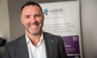 Kevin Coll, Solab managing director celebrating 30 years in business