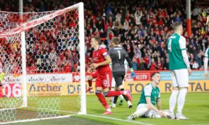 Aberdeen see off Breidablik 2-1 to secure Europa Conference League play-off clash with Qarabag