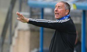 Peterhead manager Jim McInally.