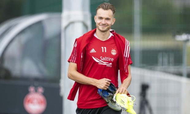 Dons boss Stephen Glass is eager to keep Ryan Hedges at Pittodrie