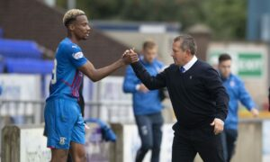 Victories take priority over personal goal targets for Caley Thistle ace Manny Duku